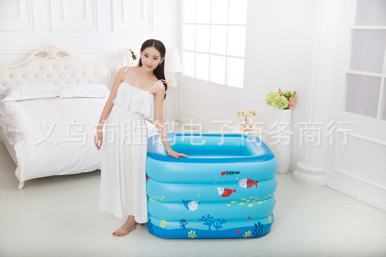 Aliexpress.com : Buy Kiddie Pool Baby bath tub kid Inflatable ...