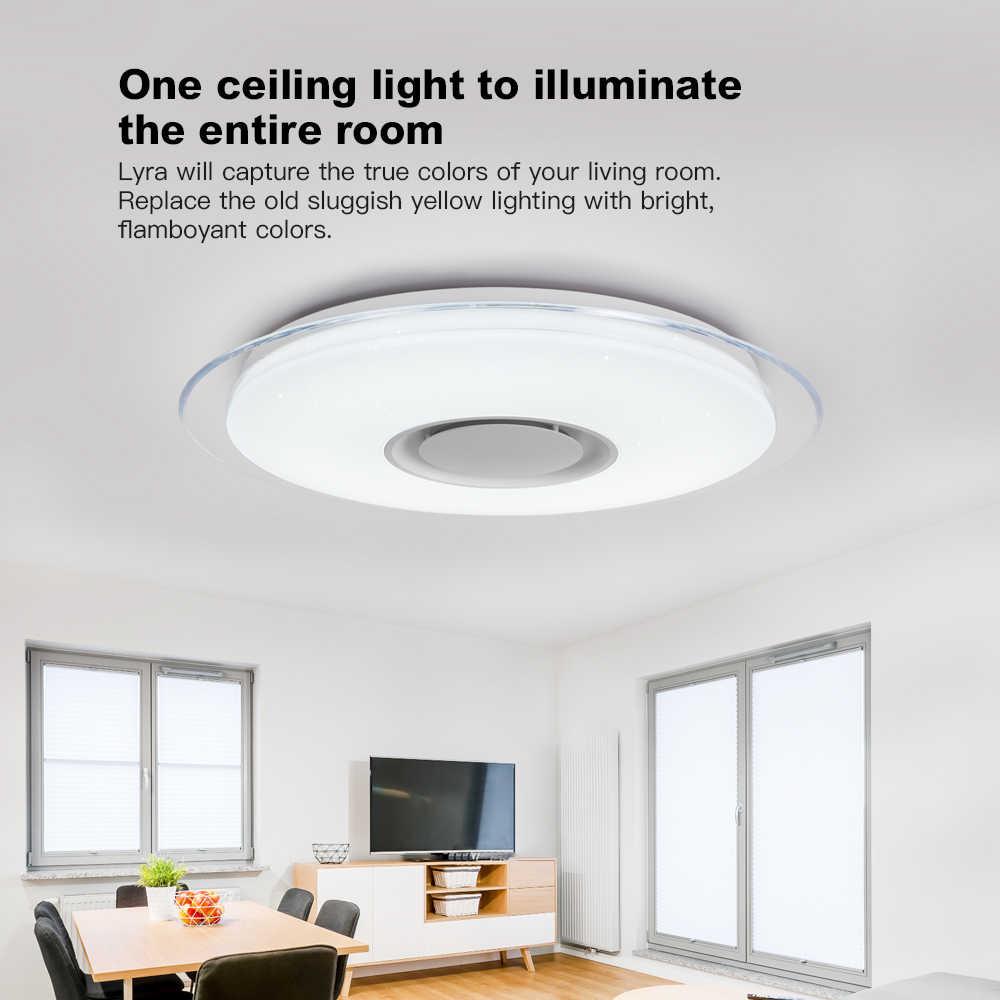 現代の led シーリングライトホーム照明 36 ワット 48 ワット 52 ワット 72 app bluetooth 音楽ライト寝室のランプスマート天井ランプ
