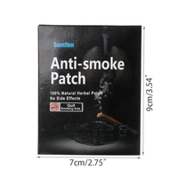 35pcs Natural Ingredient Nicotine Patches Stop Smoking Cessation Patch Health Care Tool 2