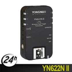Original YONGNUO YN622N II  TTL Transceiver 2.4G Wireless Flash Trigger For Nikon DSLR Camera Speedlite SB910 SB900