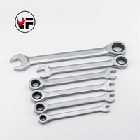 ALLSOME 8 10 12 13 14 17mm Ratchet Spanner Combination Wrench gear ring wrench ratchet handle Chrome Vanadium YF061