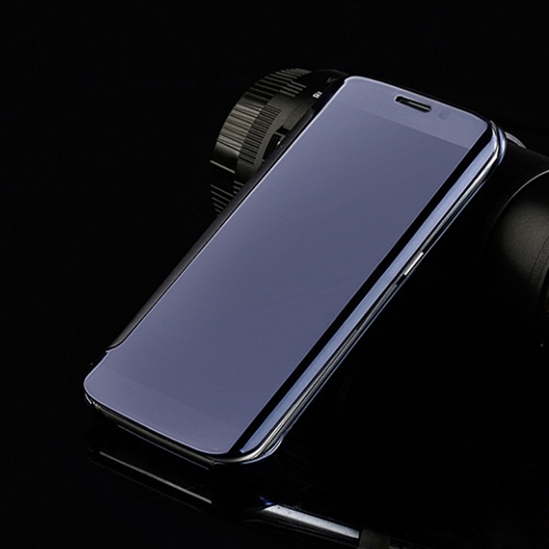 best service 942ea 59308 US $4.99 |Phone Case Conque For Samsung Galaxy J7 2016 Luxury Clear View  Electroplating Mirror Leather Cover Capa Fundas for Samsung J710-in Flip ...