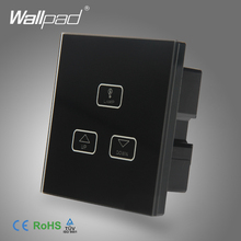 Best Quality 2 Gang Dimmer Switch Wallpad Black Glass Switch Led 3 Gang Touch Panel Dimmer Dimming Control Wall Switch 2 Way 2 lamps dimmer touch switch 110v 250v wallpad glass led 2 gang dimmer control wall smart switch panel eu uk