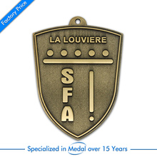Customized Antique Stamping Souvenir Medal cheap custom old bronze sports medals