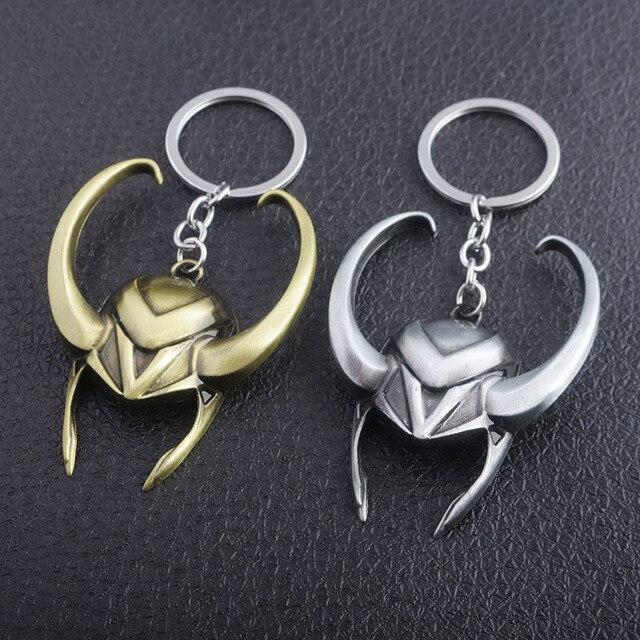 Loki Helmet Keychain (3 Designs) 3