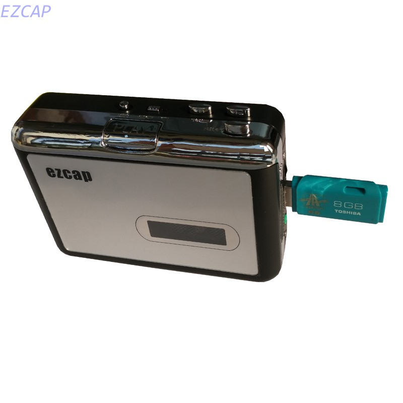 2017 new cassette to usb flash disk, convert tape cassette to mp3 in USB Flash Disk, no pc required, Playback, Free shipping