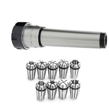 1SET #4 MT4 ER32 M16 thread morse tapper chuck MTB4 cone+10pcs collet 3mm 4mm 6mm 8mm 10mm 12mm 14mm 16mm 18mm 20mm