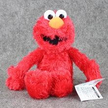 36cm sésamo rua elmo brinquedos de pelúcia macio boneca de pelúcia animal vermelho brinquedos de pelúcia presentes para crianças