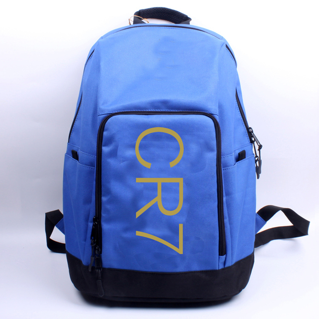 2aedb85a6c76 cr7 7  C.RONALDO schoolbag Shoes and bags Pocket Chest pack Backpack  football fans gift