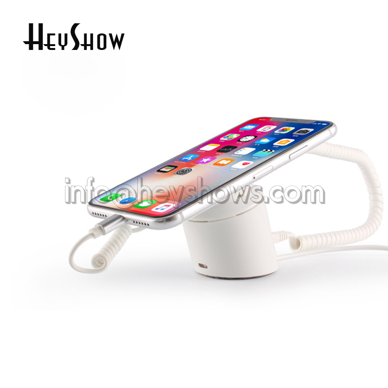 New Mobile Phone Security Display Stand Wireless Alarm Holder Chargeable Cellphone Retail Anti Theft Device Iphone Protect Mount remote control pure color acrylic security display stand for cellphone retail anti theft