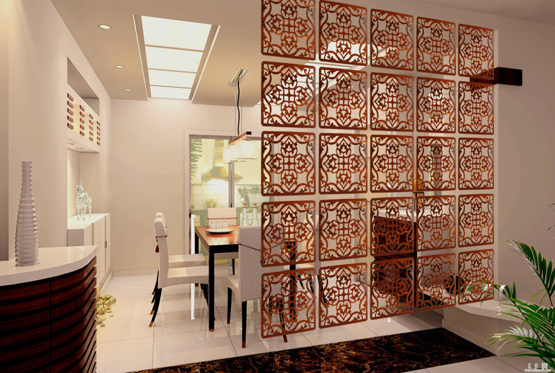 12 pieces fashionable square 100 carved wooden hanging screen modern entrance partition and - Screens in home gesign ...