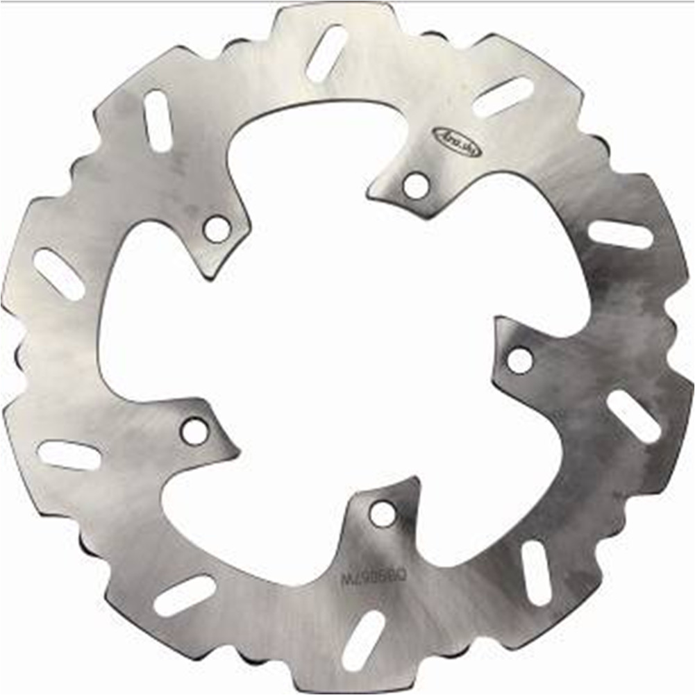 1 Pcs Motorcycle Rear Brake Rotor Disc Braking Disk for BMW G 650 X-Moto G650X Moto 2007 stainless steel rear brake disc rotor for bmw g 650 x moto 650 2007 motorcycle disk spare parts accessories