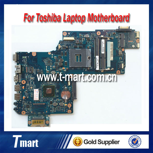 laptop motherboard for toshiba L870 L875 H000043480 HM76 system mainboard fully tested кисти для макияжа unbranded 20pcs ec064