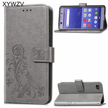 For Sony Xperia XZ4 Compact Case Soft Silicone Filp Wallet Shockproof Phone Bag Case Card Holder Fundas For SONY XZ4 Compact