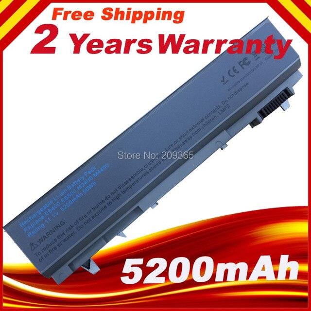 Bateria para dell latitude e6400 e6410 e6510 e6500 atg xfr 1m215 4m529 4n369 4p887 c719r dfnch fu268 fu272 fu274