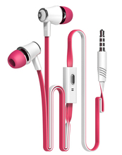 3 pieces/lot Original Langsdom JM21 In ear Earphone, stereo Headset HI-FI bass 8 colors with mic For smart phone MP3 MP4