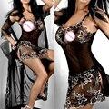 De Marketing Hot bordado conjunto de Lingerie Sexy lady perspectiva impressão roupas íntimas femininas May7 tanwc