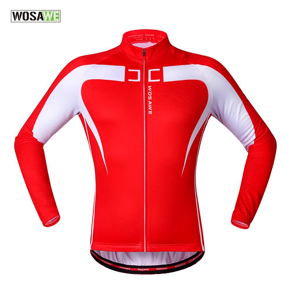 ФОТО WOSAWE Thermal Fleece Cycling Jersey Winter Warm Bicycle Clothing Windproof Mountain Soft shell Coat Bike Jackets