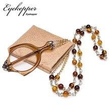 R153 Eyekepper Mini Folding Reading Glasses Pendant Necklace Magnifier.