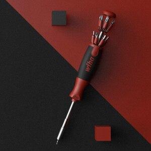 Image 5 - Youpin Wiha 26 In 1 Schroevendraaier Kit Met Verborgen Tijdschrift Ontwerp Precisie Chroom Vanadium Staal Dual end Bits