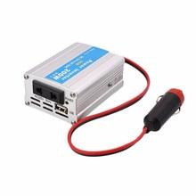 Vehemo 12 В постоянного тока до 220 В 50 Гц 200 Вт 5 В Выход автомобиля Адаптеры питания преобразователь адаптер Модифицированная синусоида Мощность с USB