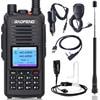 Baofeng DMR DM 1702 (GPS)  Walkie Talkie VHF UHF Dual Band 136 174 & 400 470MHz Dual Time Slot Tier 1&2 Digital/Analog CB Radio