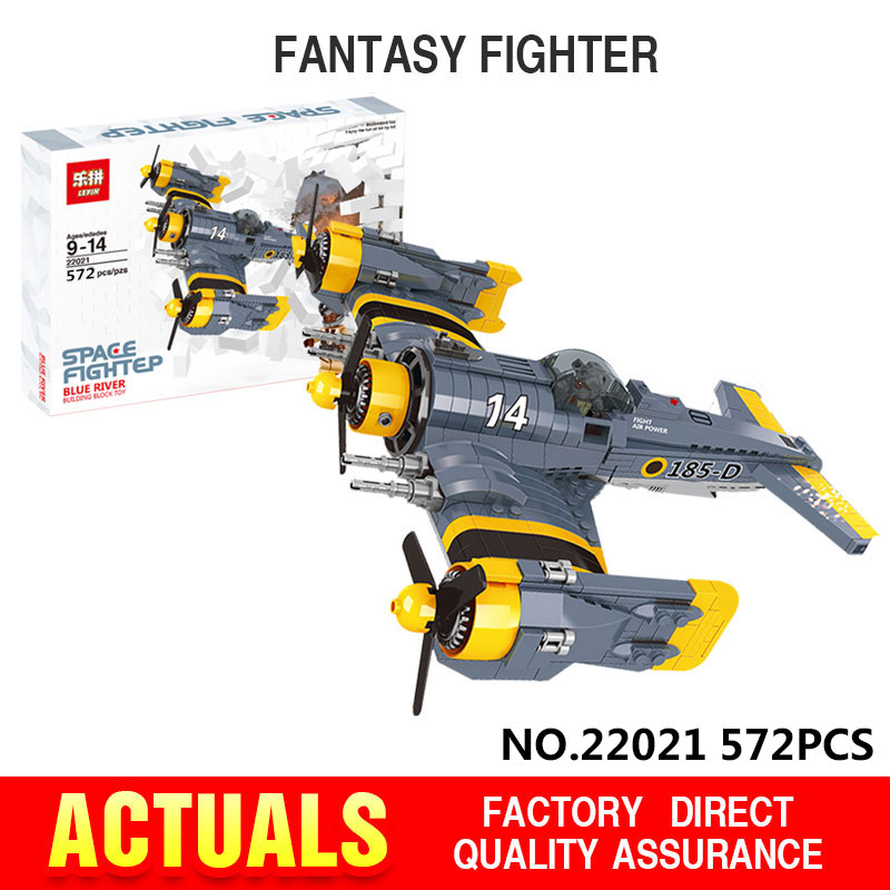 ФОТО Lepin 22021 572Pcs Technical Series The Beautiful Science Fiction Fighting Aircraft Set Building Blocks Bricks Toys Model Gift