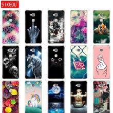 Чехол для телефона huawei honor 5X, мягкий силиконовый чехол-накладка из ТПУ, 360 полная защита, прозрачный чехол с цветочным принтом