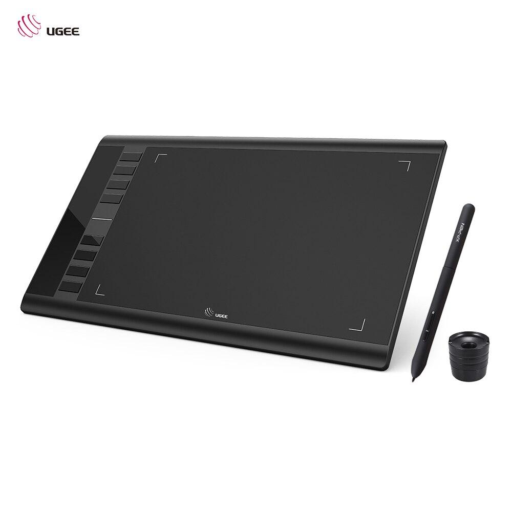 UGEE M708 Mises À Jour Tablette Graphique Numérique Dessin Tablette Électronique Art Planche à Dessin 10x6 pouces Zone Active 8192 Niveau