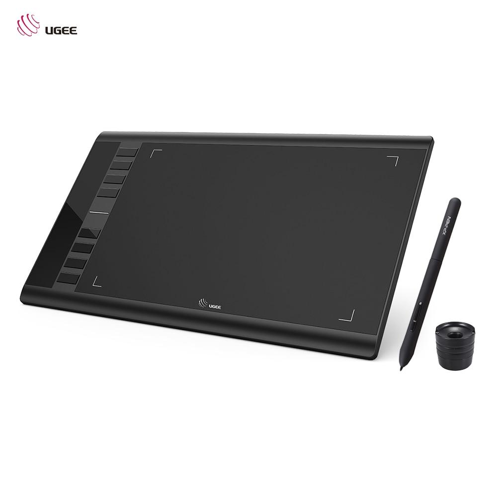 UGEE M708 actualizaciones tableta gráfica dibujo Digital Tablet electrónica arte dibujo 10x6 pulgadas área activa 8192 nivel