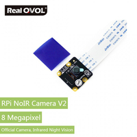 RealQvol Official Raspberry Pi Infrared Camera Module V2 Supports Night Vision Sony IMX219 8 Megapixel Sensor