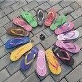 Летом флип-флоп плоские сандалии женщин сандалии плоские тапочки zapatos mujer sapatos femininos Крытый и Открытый Сандалии женщина