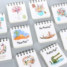 Корейська Творча Канцелярська Студентська Котушка Блокнот Ноутбук Cartoon Daily Notebook