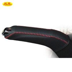 Автомобильные чехлы ручника, чехол для Chevrolet Trax, трекера, авто, ручной тормоз, Оригинальные кожаные рукоятки, чехол