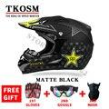 El envío Libre de La Motocicleta Adultos Motocross Off Road Helmet Atv Dirt Bike Downhill Mtb Dh Racing Casco Capacetes Casco Cruz