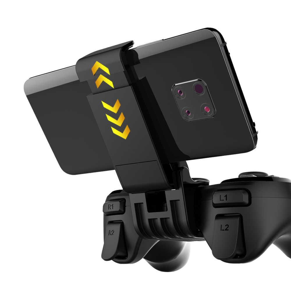 Disparador Bluetooth Joystick para teléfono móvil Pubg controlador móvil Gamepad juego Pad Android iPhone Control libre Fire PC Joistick
