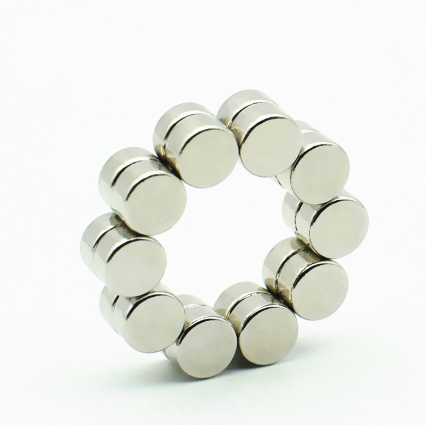 50-1000pcs Diametrically NdFeB Magnet Disc Dia 5x2.5 mm N42 Button Strong Neodymium Permanent Rare Earth Magnets