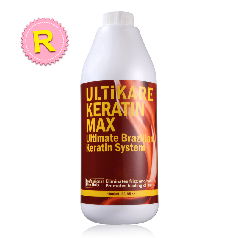 Top Quality Hot Sale 1000ml Brazilian Keratin Hair Treatment 12% Formalin Straighten and Repair Damaged Hair Mask Free Shipping
