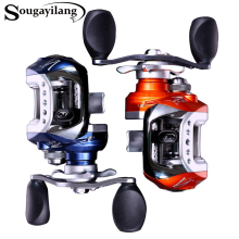 Sougayilang Bait Casting Reel LV100 10+1 Ball Bearings 215g Carp Fishing Gear Left/Right Hand Choice Bait Casting Fishing Reel