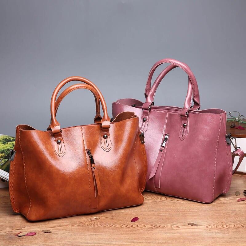 KULUOSIDI grande capacité décontracté fourre-tout sac à main femmes Composite sac pour femmes 2018 Messenger sac à bandoulière femme sac à main ensemble