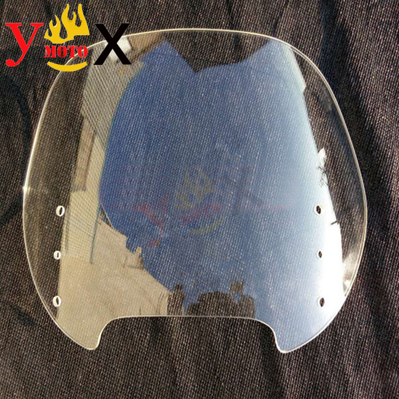 Touring Motorcycle ABS Clear Windshield Windscreen Deflector Front Wind Glass Airflow For BMW R1100RT R1150RT Standard
