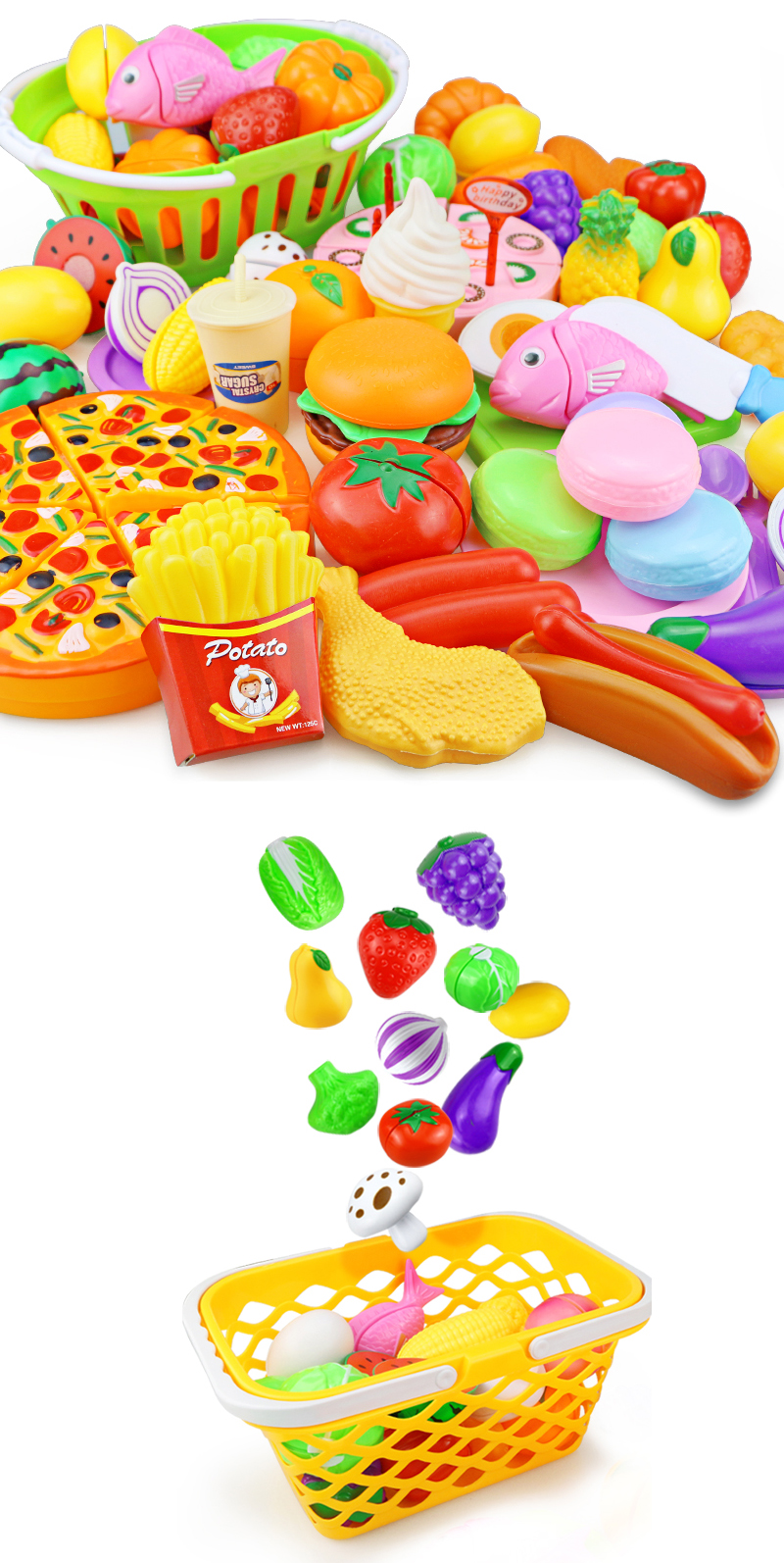 Kitchen Play Fruits and Veggies