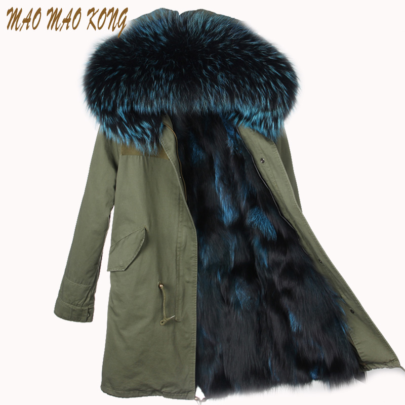 2017 long winter jacket women outwear thick parkas raccoon natural real fur collar coat hooded real warm fox fur liner plus size 2017 women outwear long camouflage winter jacket thick parkas raccoon natural real fur collar coat hooded pelliccia