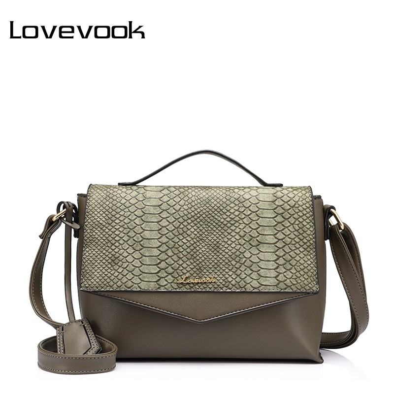 LOVEVOOK women handbags female shoulder crossbody bag small ladies messenger bags high quality with crocodile prints flap PU a1330 summer solid small flap bag ladies leather handbags women messenger bags female shoulder crossbody bag candy color sweet