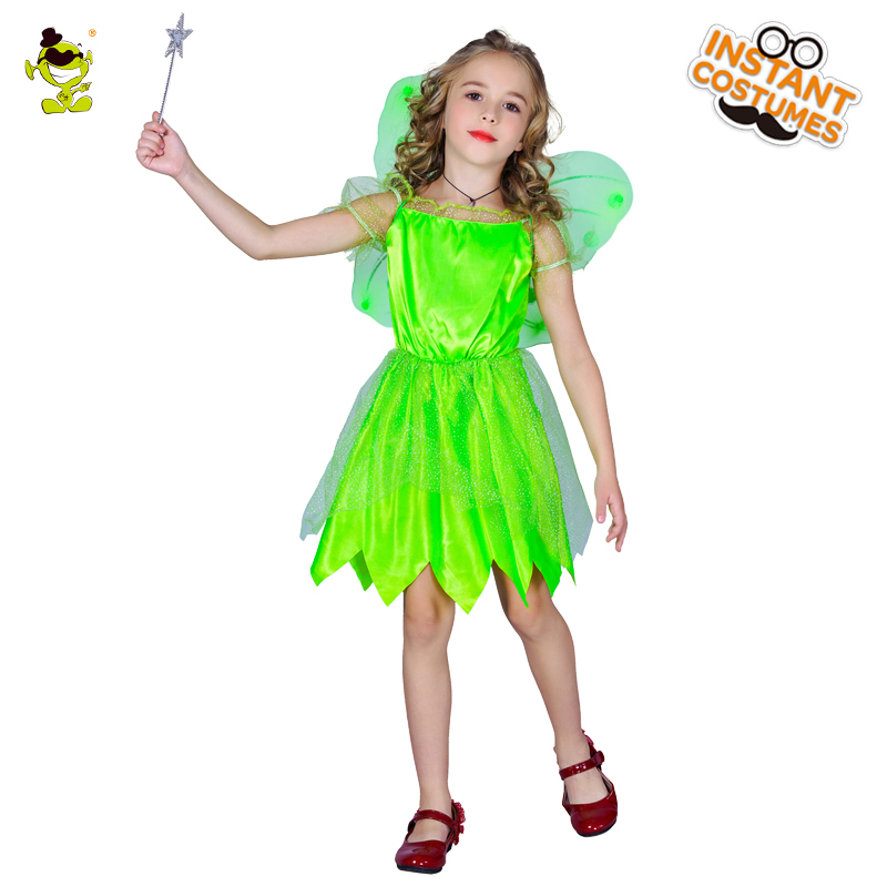 Kids Green Fairy Costumes Halloween Beauty Fairy Fancy Dress Masquerade Party Pretty Role Play Fancy Outfits For Kids Party -in Girls Costumes from Novelty ...  sc 1 st  AliExpress.com & Kids Green Fairy Costumes Halloween Beauty Fairy Fancy Dress ...