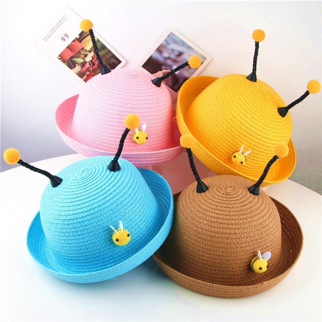 CHAMSGEND Summer Baby Cartoon Children Breathable Hat Straw Hat Kids Hat  Boy Girls Hat Cap MAY2 P35|Hats & Caps| - AliExpress