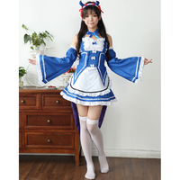 Ladies Halloween Costumes Ram Cosplay Anime Demon Maid Outfit Role Playing Games Anime Fancy Dress Disguise For Adults Fantasias