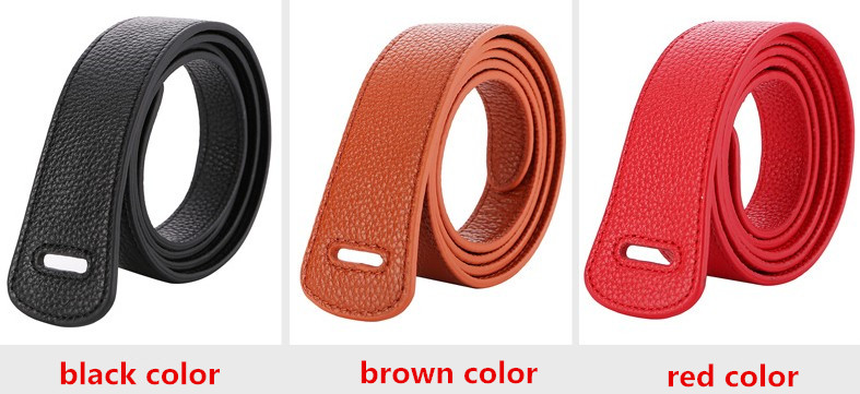 HTB1 6YLKf5TBuNjSspmq6yDRVXay - Luxury Female Belt for Women red Bow design Thin PU Leather Jeans Girdles Loop strap belts bownot brown dress coat accessories