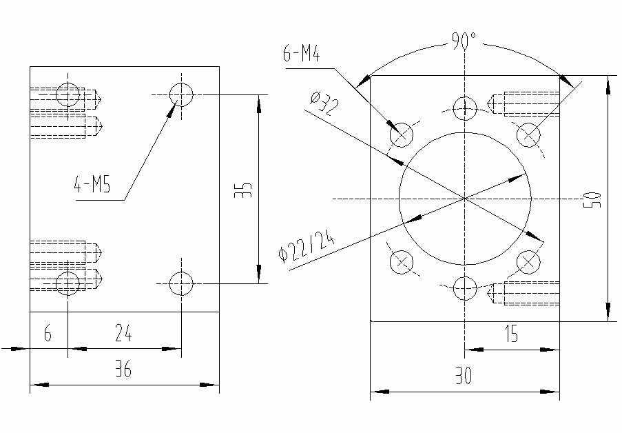 高品質内孔 22 ミリメートル 24 ミリメートル SFU1204 ボールねじナットの住宅取付金具 1204 ボールねじ cnc 彫刻機械部品