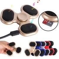 5 Styles LED Bluetooth Speaker Music Finger Spinner Finger ABS EDC Hand Spinner Tri For Kids
